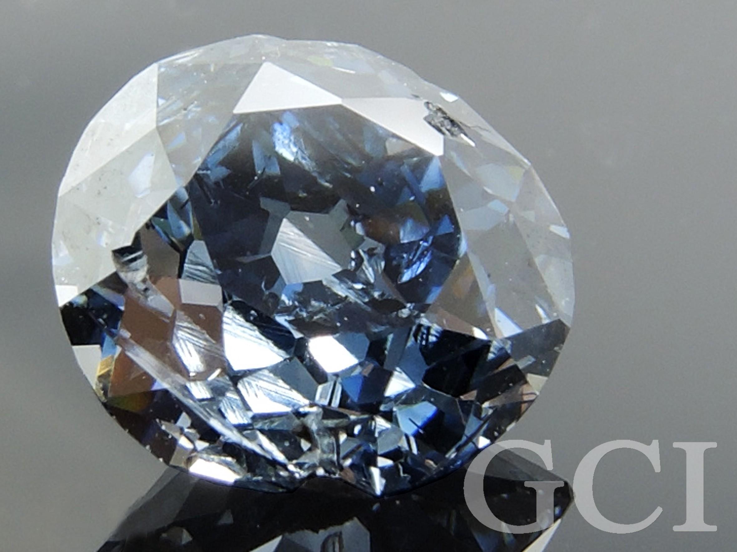 יהלום סינטטי כחול
