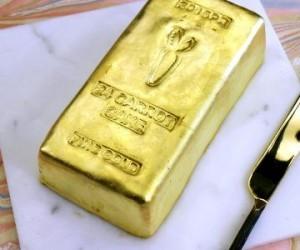 עוגת זהב טהור
